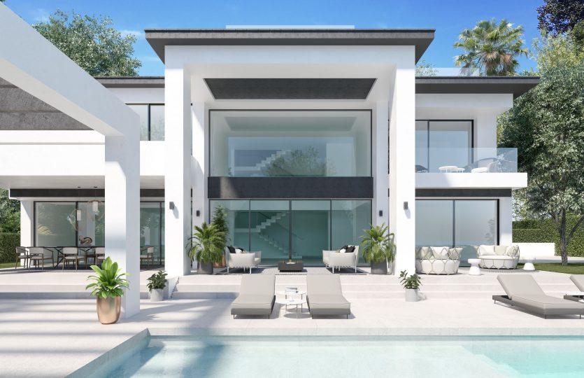 villas de lujo Marein Banus Marbella
